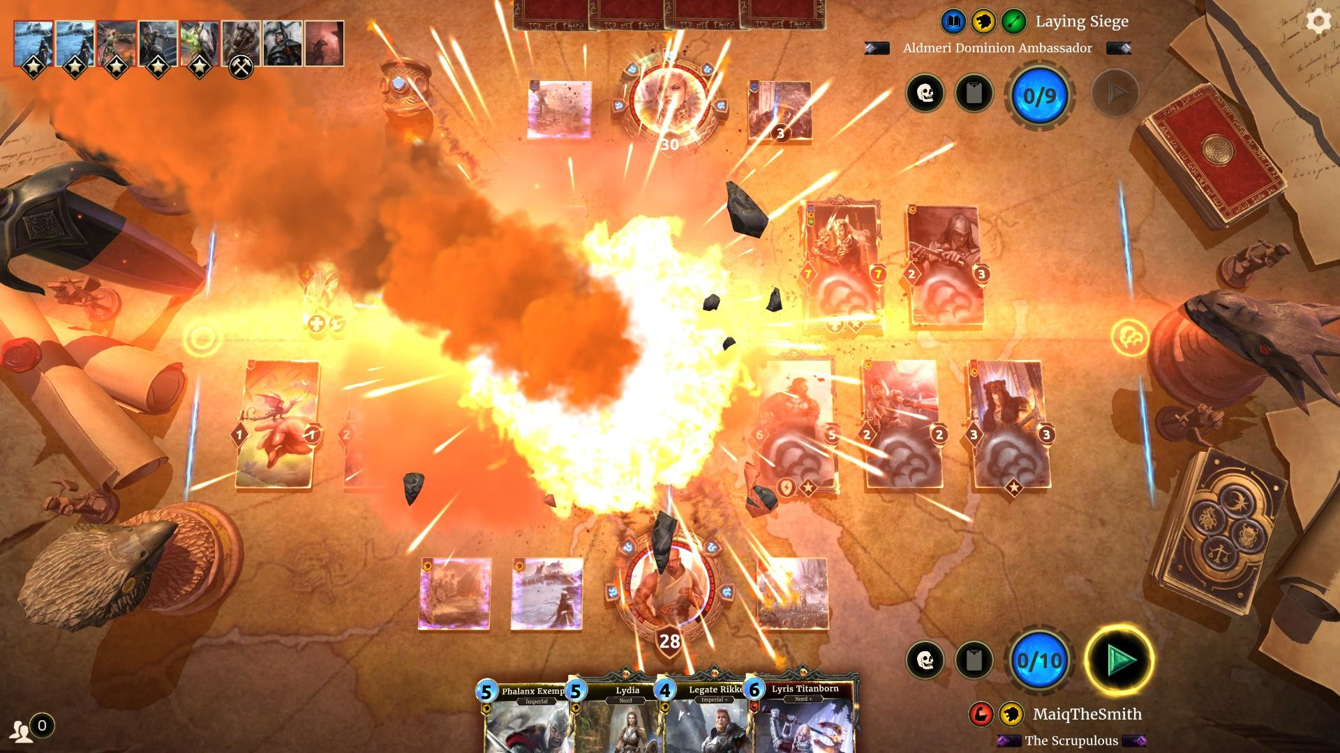 The Elder Scrolls: Legends Gameplay Screenshot 1
