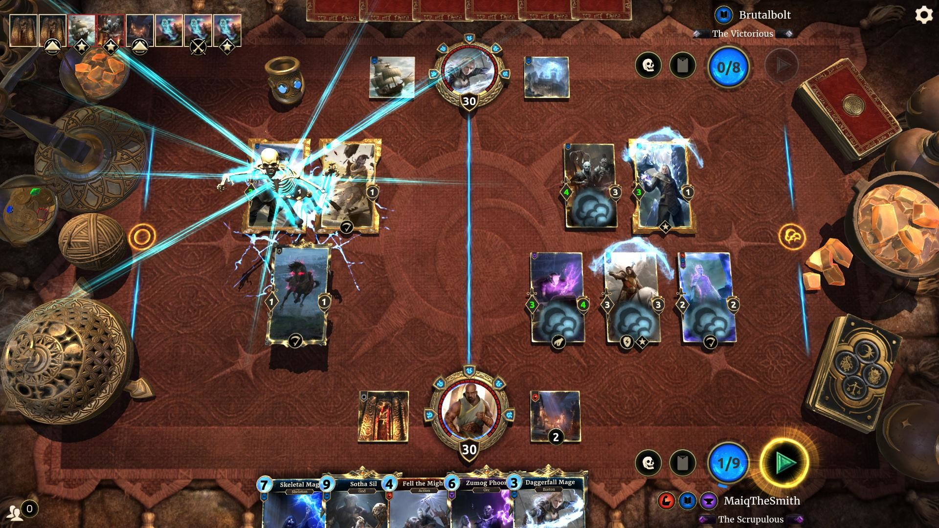 The Elder Scrolls: Legends Gameplay Screenshot 2
