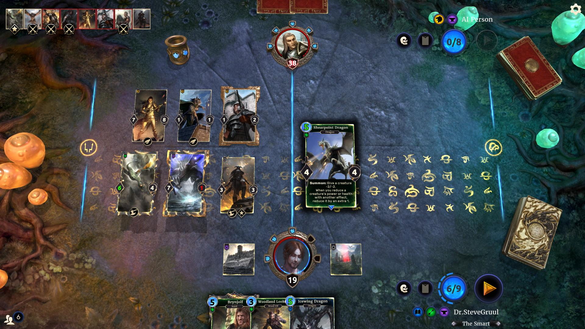 The Elder Scrolls: Legends Gameplay Screenshot 3