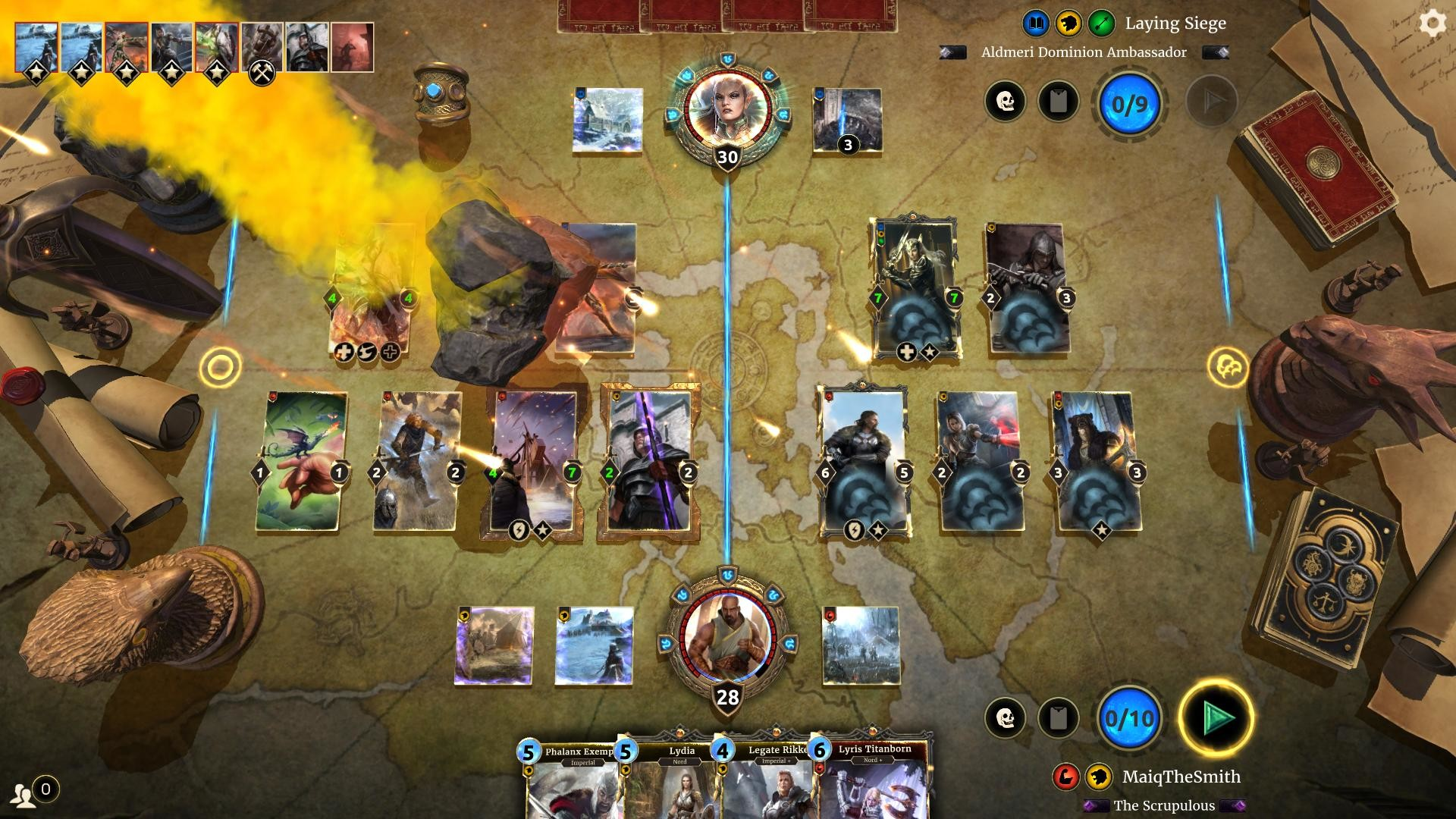 The Elder Scrolls: Legends Gameplay Screenshot 4