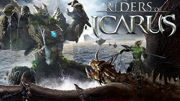 Riders of Icarus - A free-to-play action MMORPG featuring mounted, in-air combat.