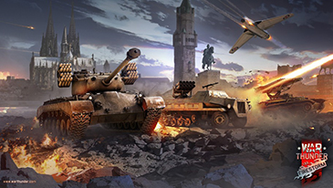 War Thunder - A MMO shooter that puts you in command of hundreds of the finest combat vehicles of World War II.