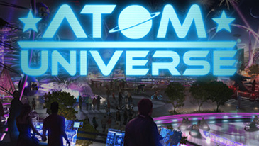 Atom Universe - A free-to-play multiplayer online social Virtual World set in a theme park.