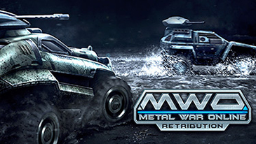 Metal War Online: Retribution - A high-speed multiplayer online concept car shooter game with racing elements!