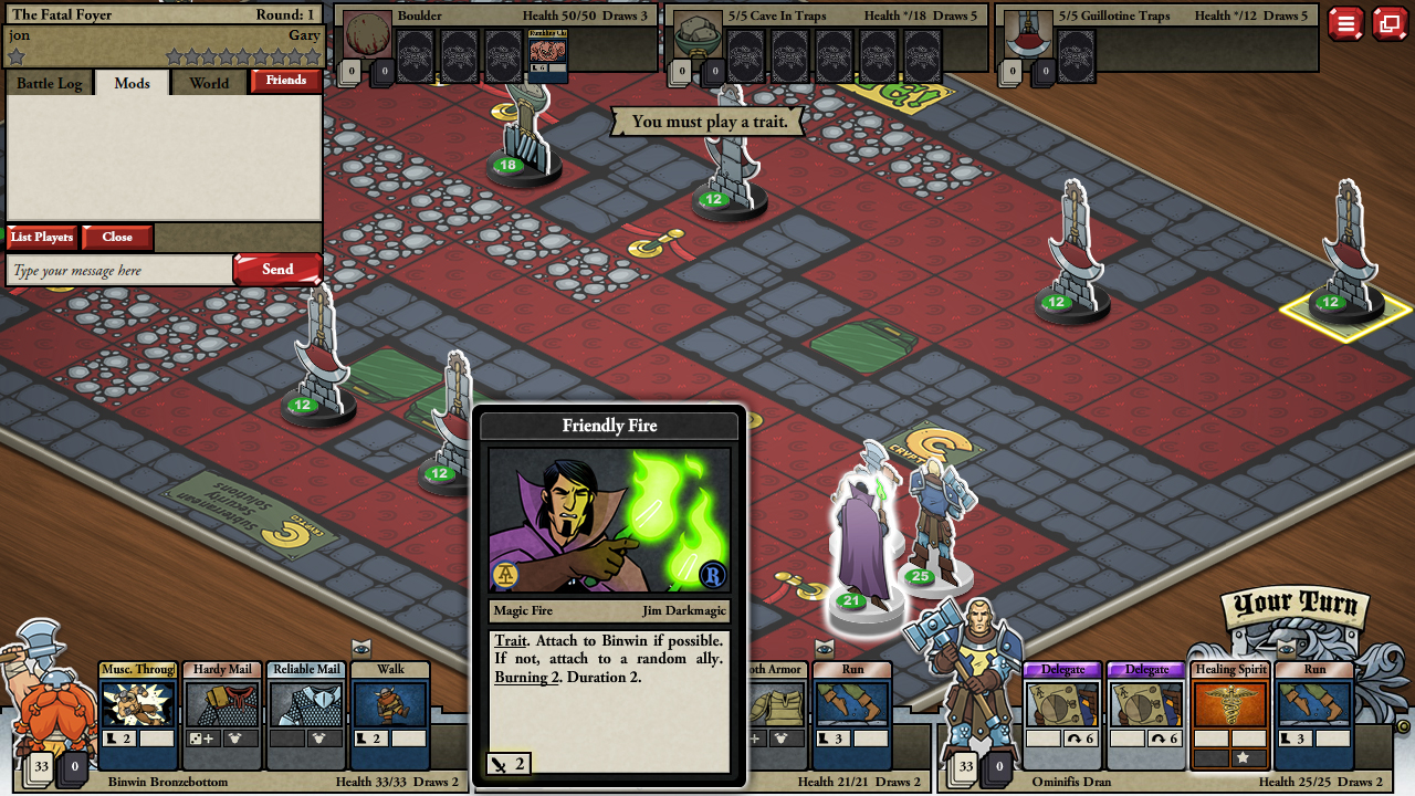 Card Hunter Gameplay Screenshot 2