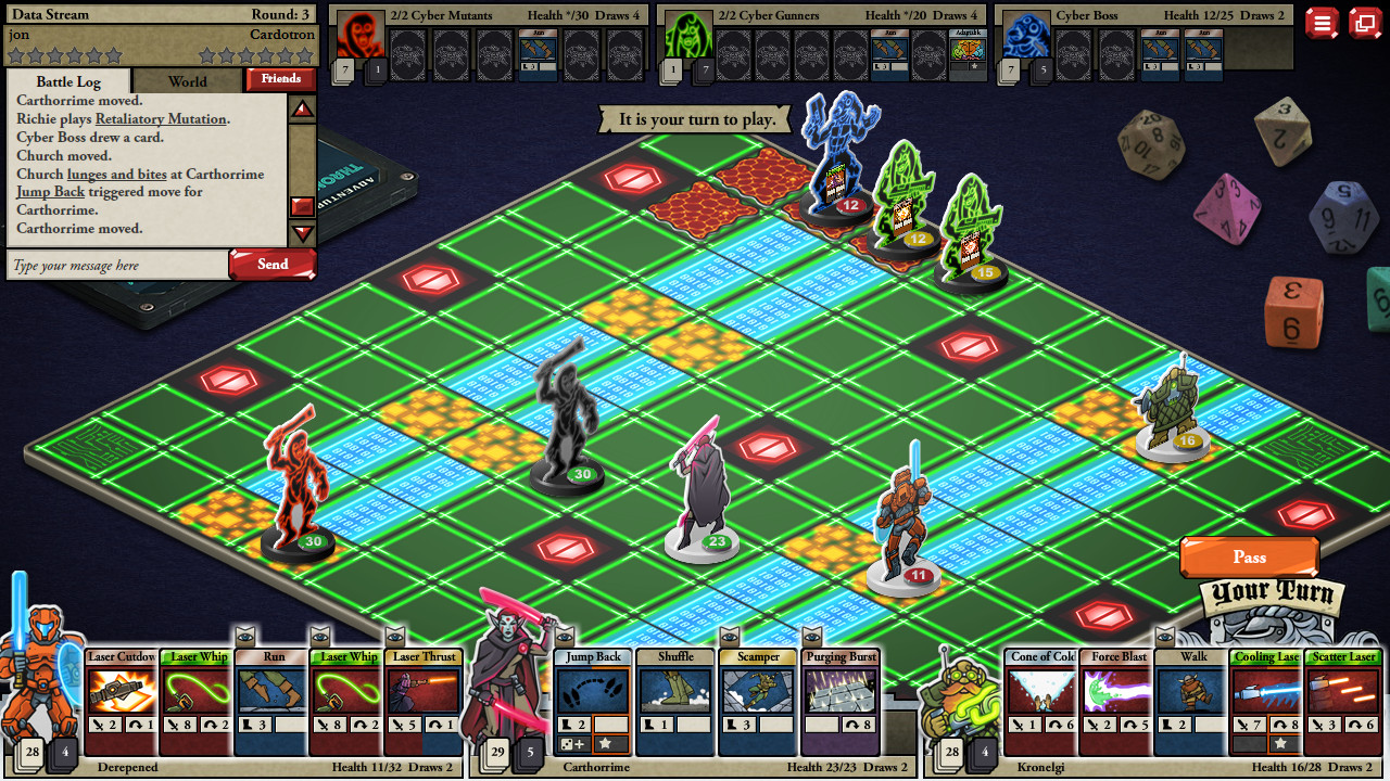 Card Hunter Gameplay Screenshot 3