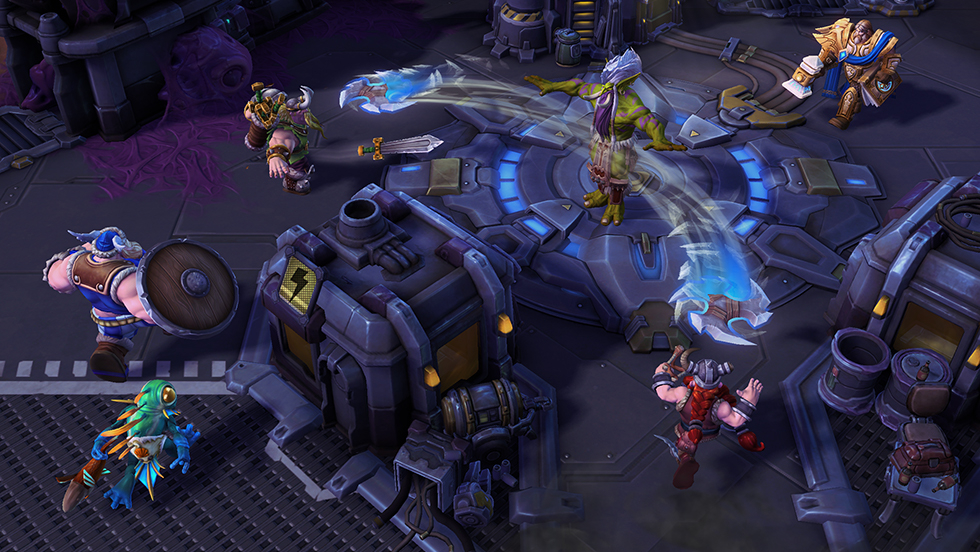 Heroes of the Storm Gameplay Screenshot 1