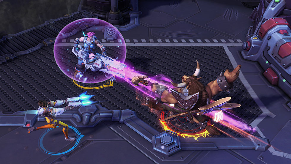 Heroes of the Storm Gameplay Screenshot 2
