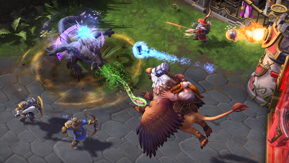 Heroes of the Storm Gameplay Screenshot 3