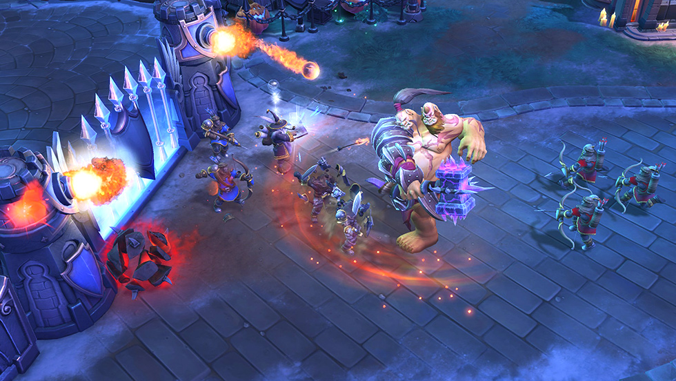 Heroes of the Storm Gameplay Screenshot 4