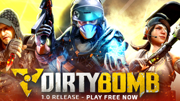 Dirty Bomb - A free-to-play first person shooter multiplayer game set in a post-apocalyptic London.