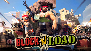 Block N Load - A free-to-play multiplayer online shooter game that looks like a mix of Minecraft and Team Fortress 2.