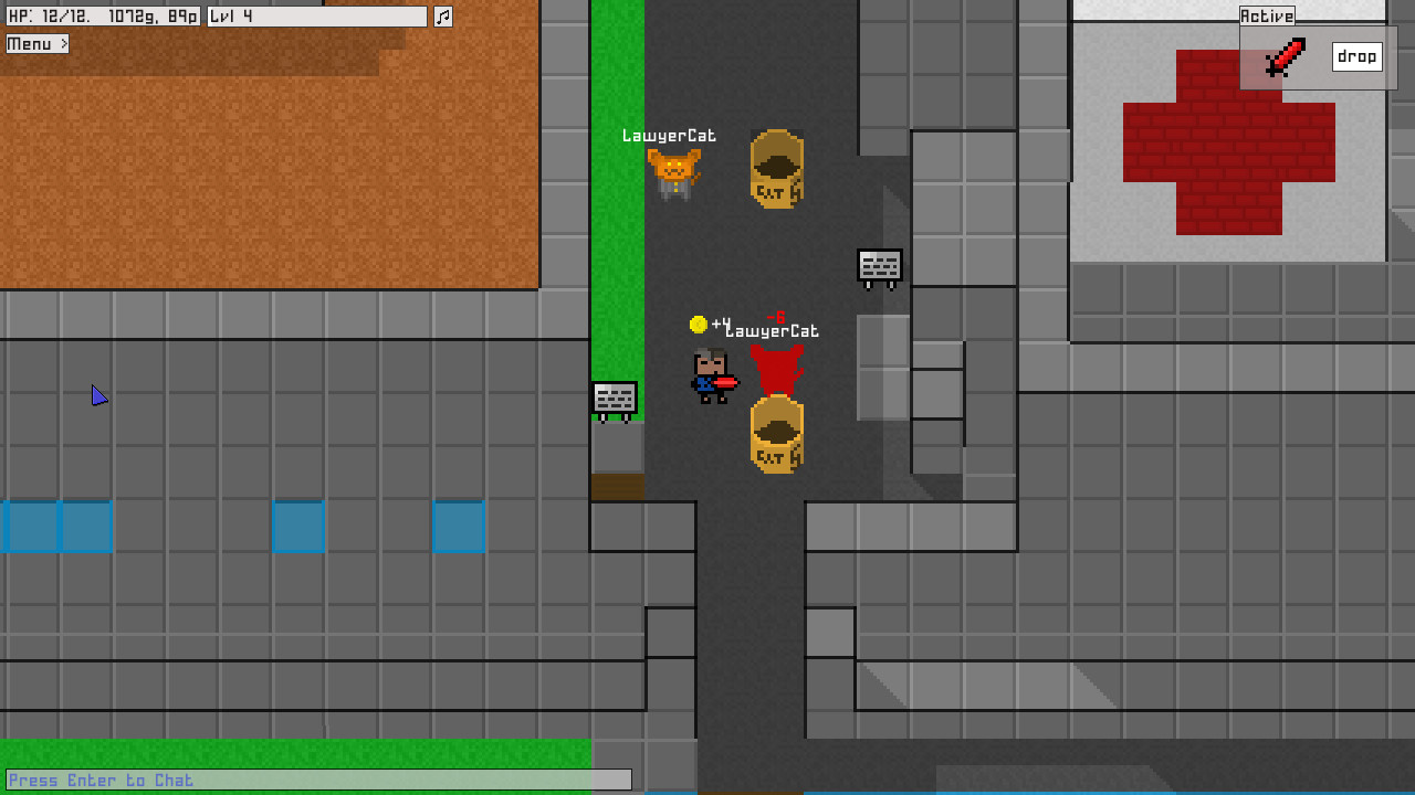 8BitMMO Gameplay Screenshot 1