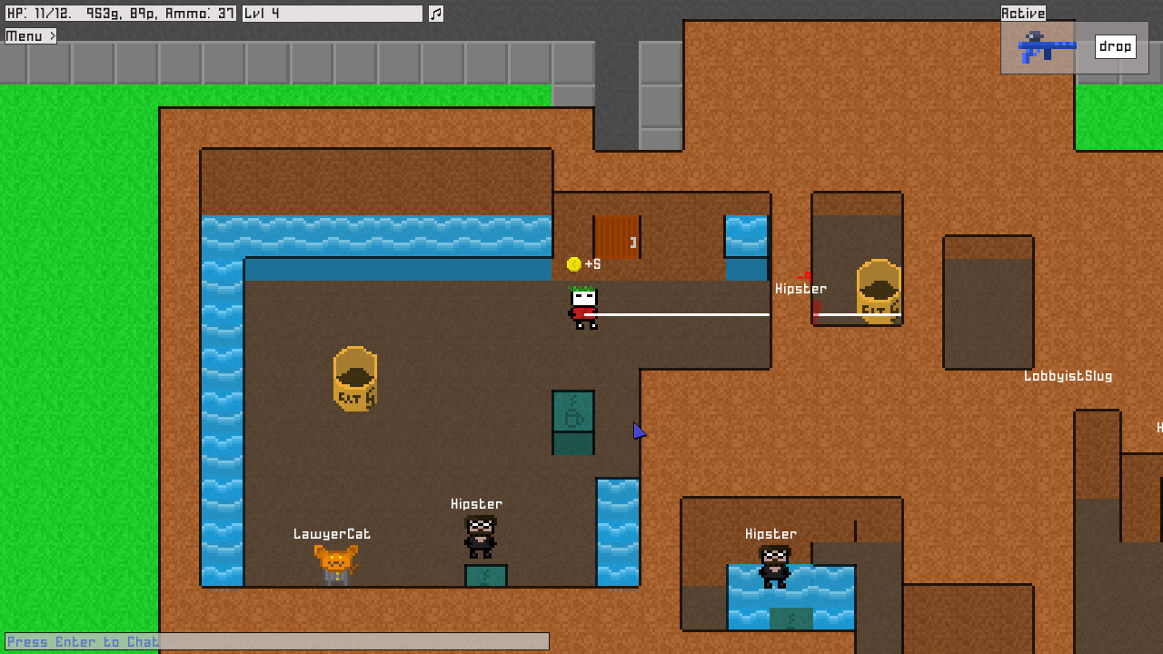 8BitMMO Gameplay Screenshot 2