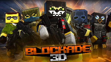 Blockade 3D - A free to play FPS in an editable procedural world.