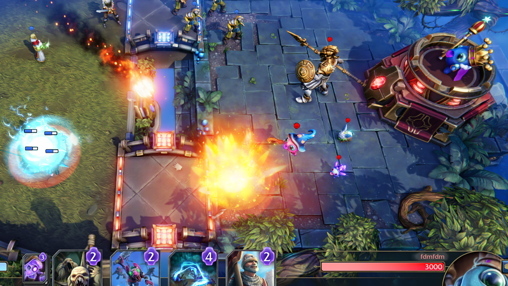 Minion Masters Gameplay Screenshot 1