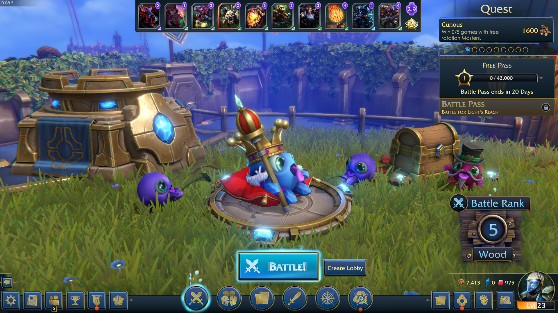 Minion Masters Gameplay Screenshot 2