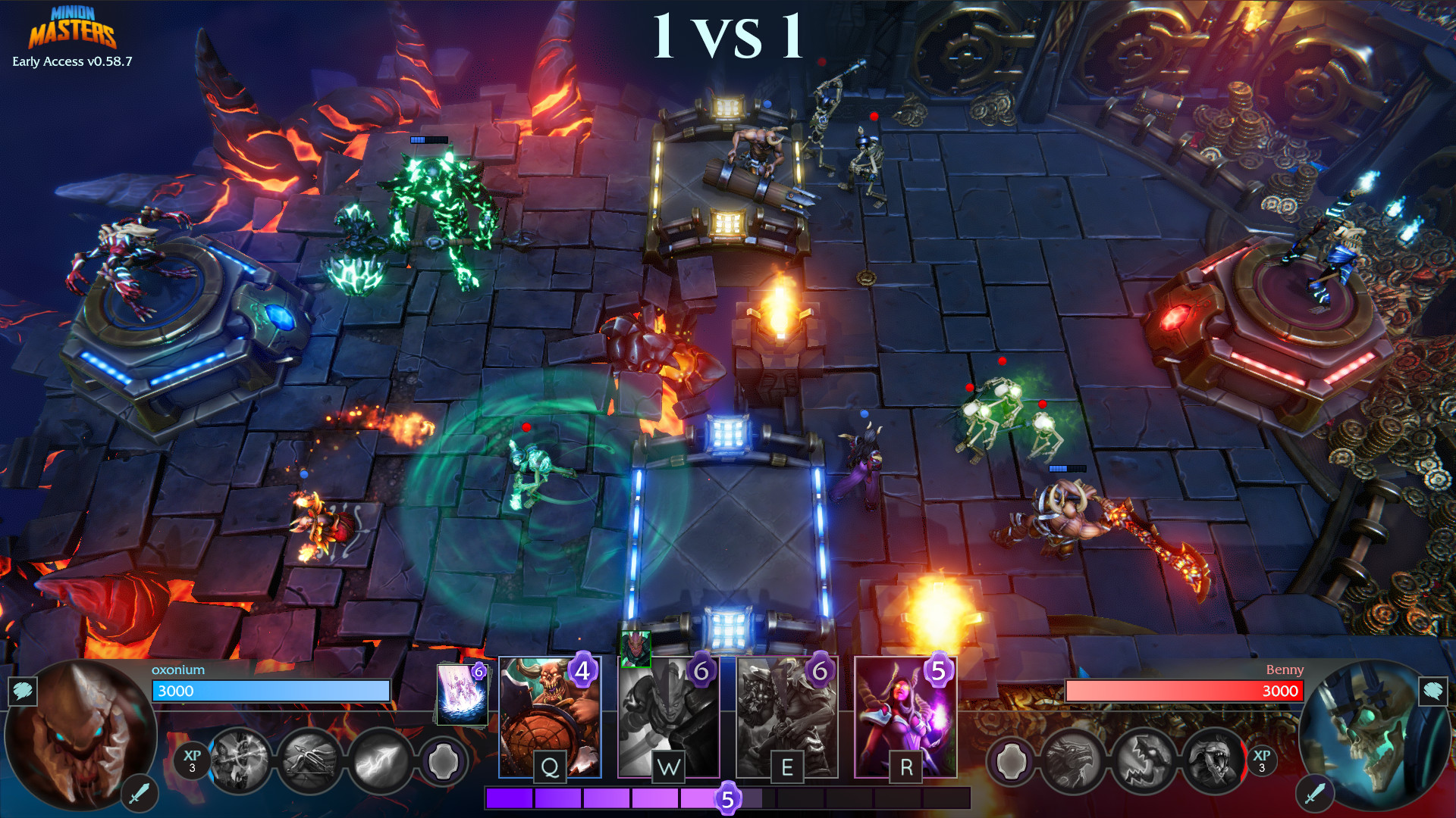 Minion Masters Gameplay Screenshot 4
