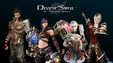 Divine Souls - A action-based MMORPG in a fantasy world with magic and technology.