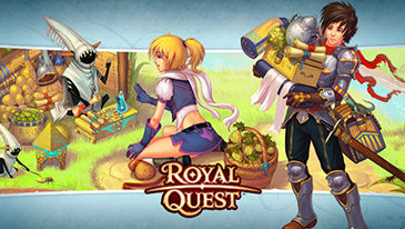 Royal Quest - A free to play fantasy MMORPG game with unique PvPvE locations, PvP Arenas, Battlegrounds and Castle Sieges.
