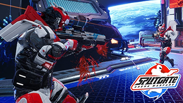 Splitgate: Arena Warfare - A free-to-play multiplayer shooter developed and published by 1047 games.