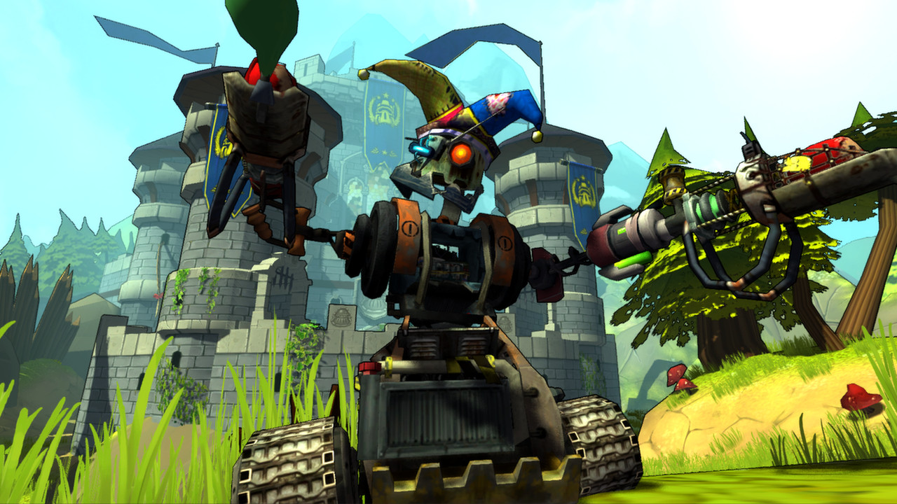 Guns and Robots Gameplay Screenshot 1