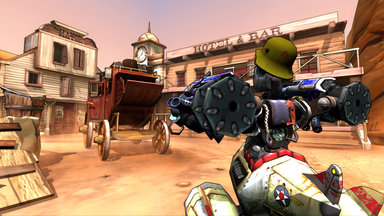 Guns and Robots Gameplay Screenshot 3