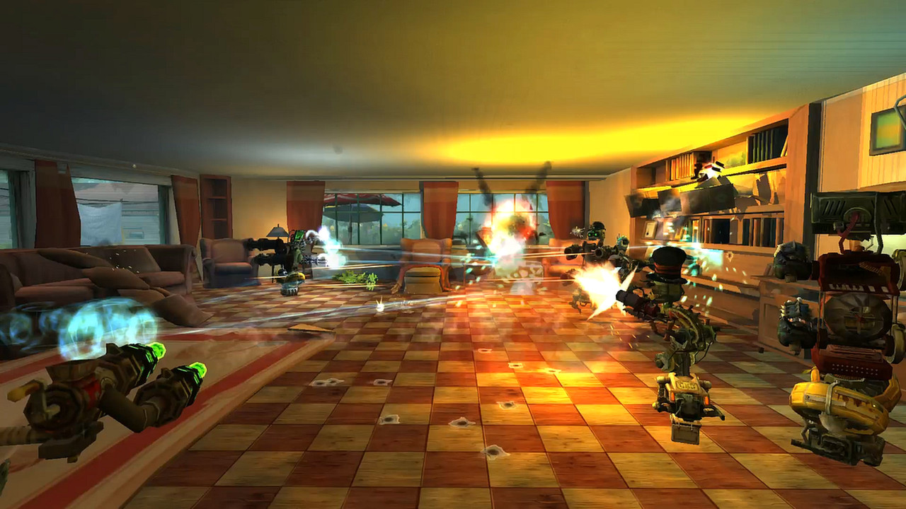 Guns and Robots Gameplay Screenshot 4