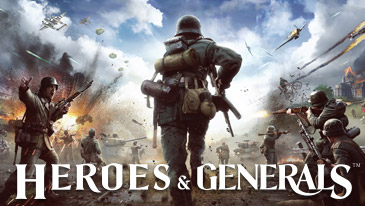 Heroes & Generals - A World War II-based MMOFPS that mixes infantry, armor, and aircraft .
