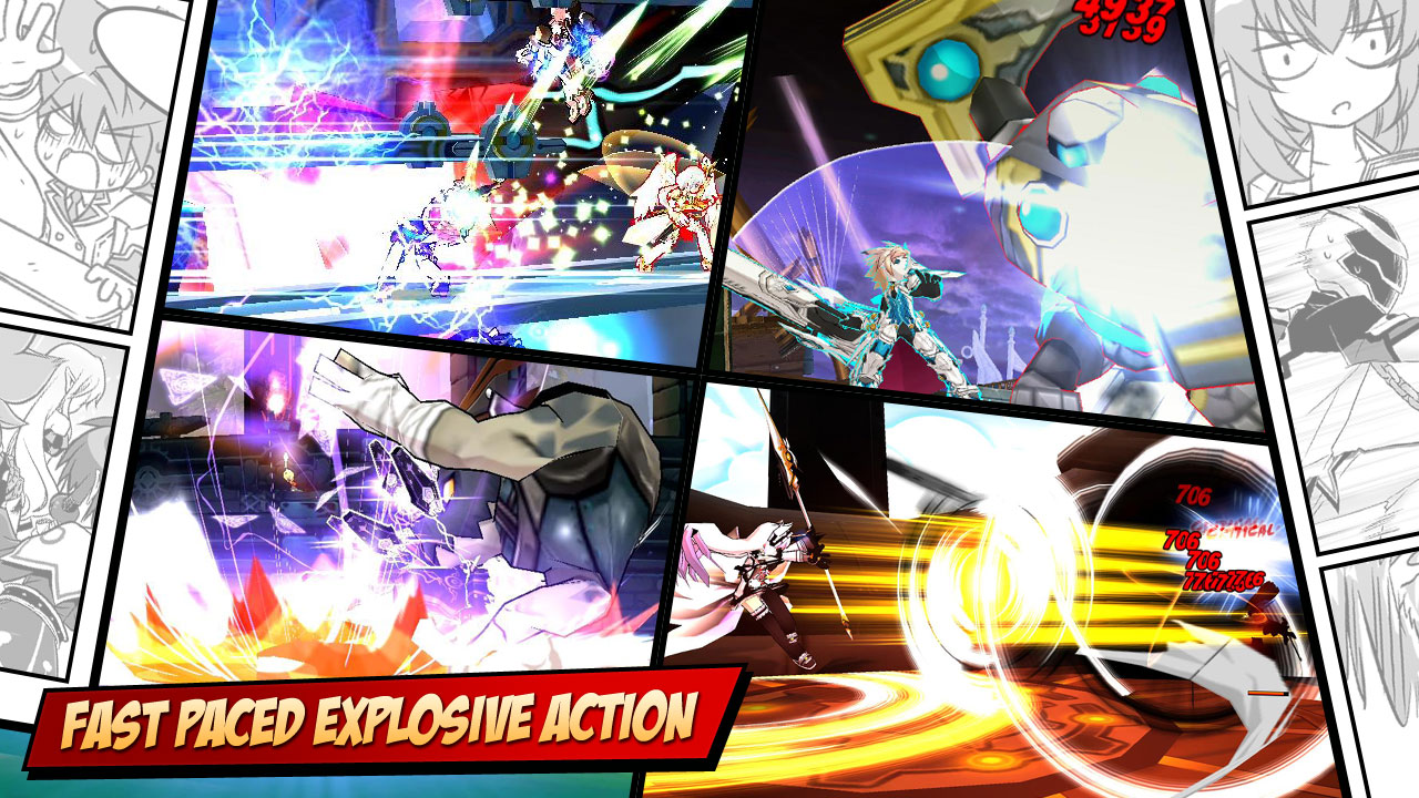 Elsword Gameplay Screenshot 1