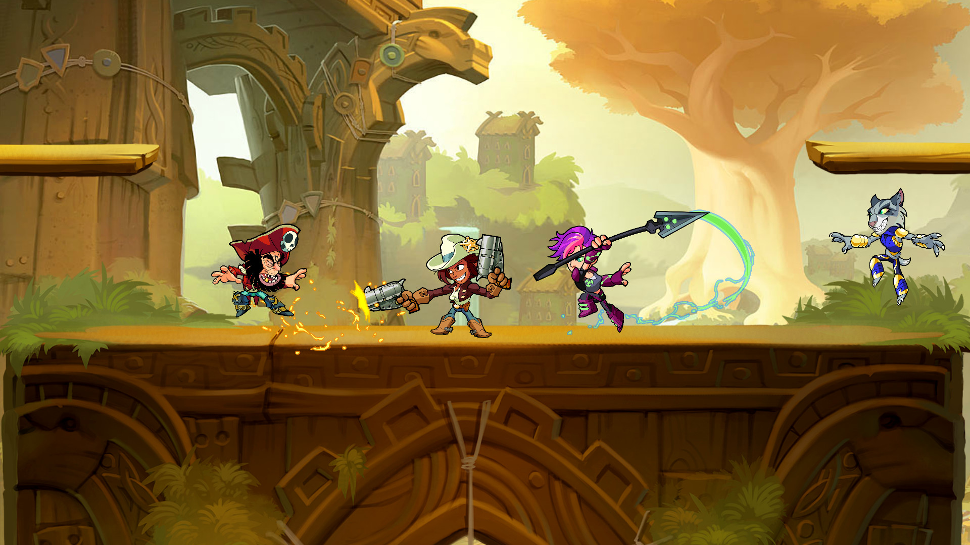 Brawlhalla Gameplay Screenshot 3