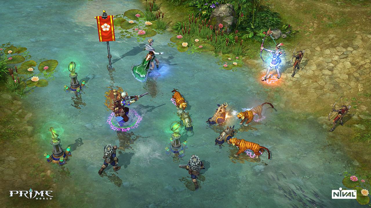 Prime World Gameplay Screenshot 1