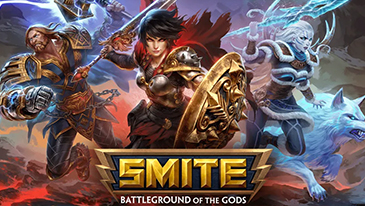 Smite - A popular free-to-play 3D MOBA where you take on the role of an ancient god.