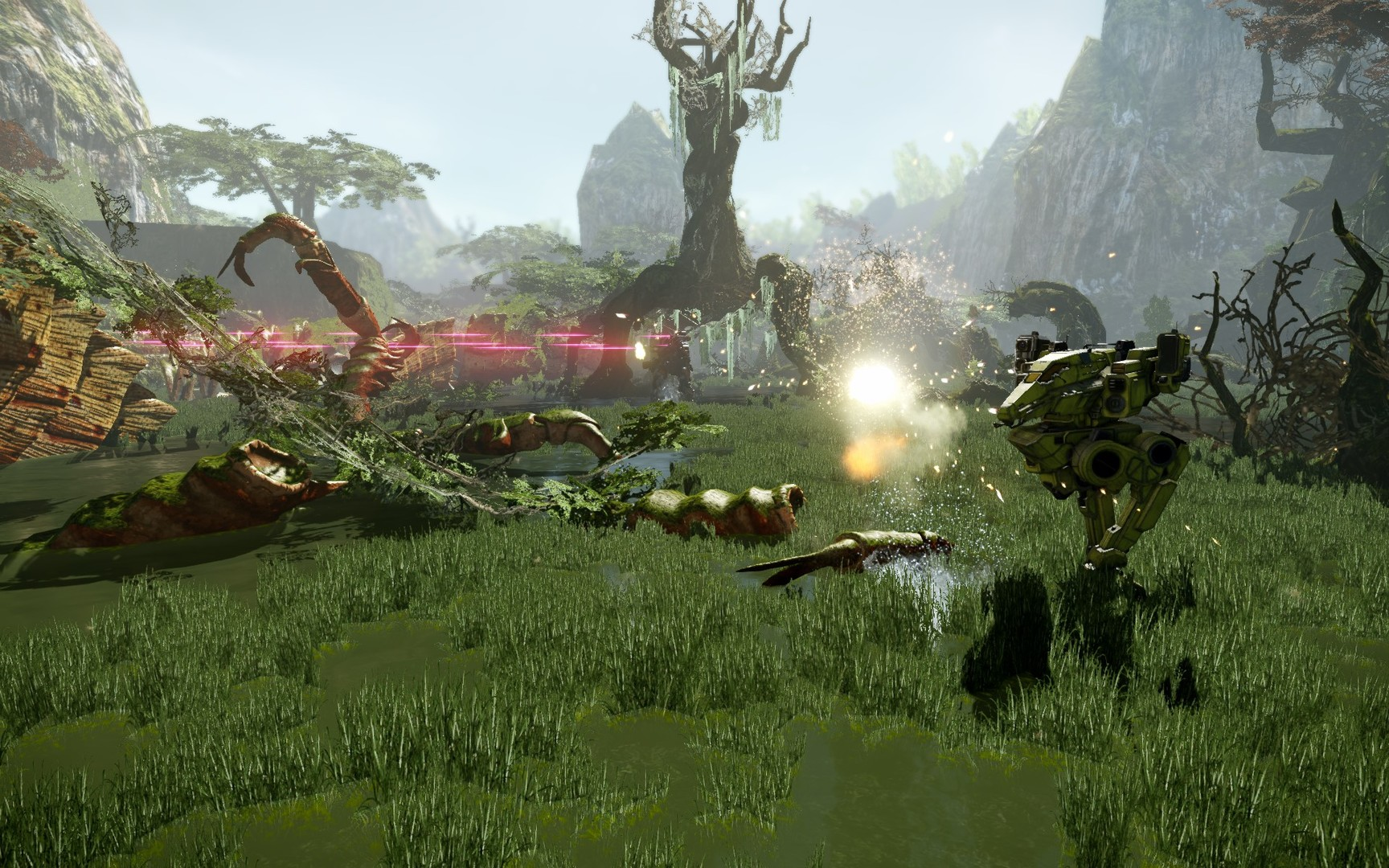 MechWarrior Online Gameplay Screenshot 1