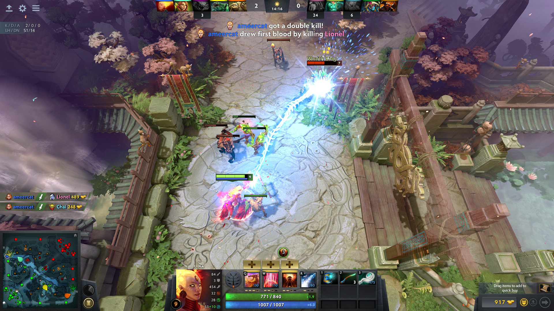 Dota 2 Gameplay Screenshot 2