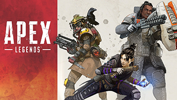 Apex Legends - A free-to-play strategic battle royale game featuring 60-player matches and team-based play.