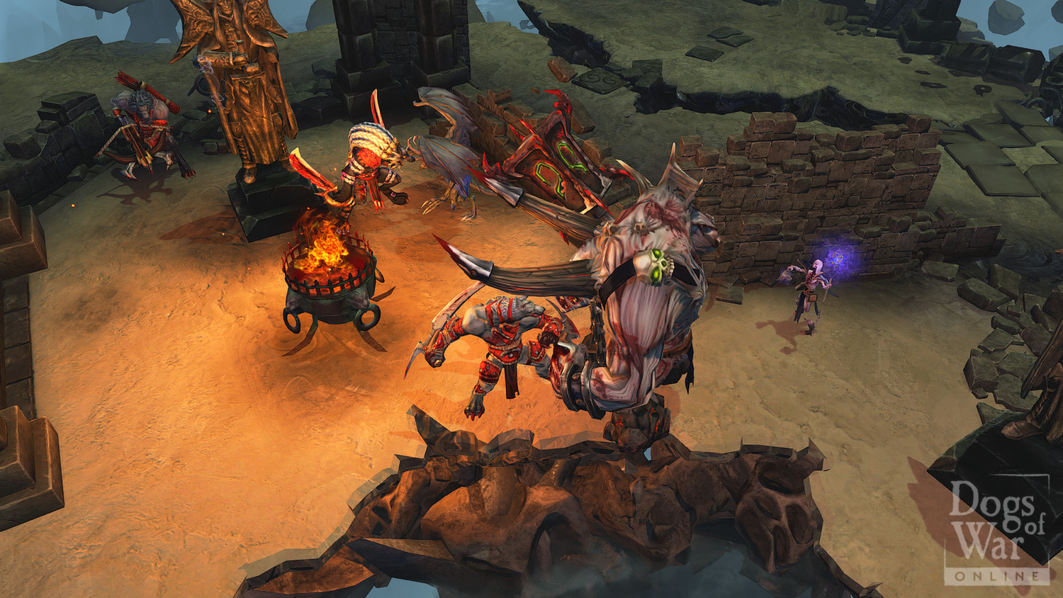 Dogs of War Online Gameplay Screenshot 1