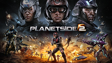 PlanetSide 2 - A free-to-play open-world FPS that pits three factions against each other in a never-ending war.