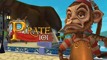 Pirate 101 - A free to play Pirate-themed MMORPG designed with kids in mind.