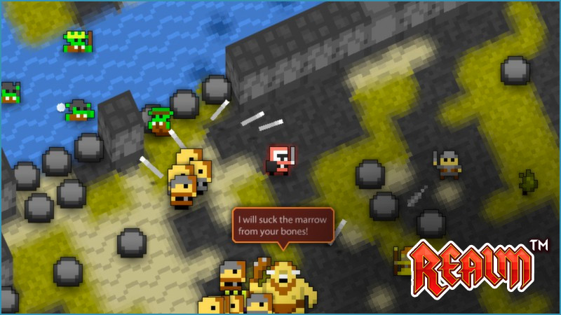 Realm of the Mad God Gameplay Screenshot 1