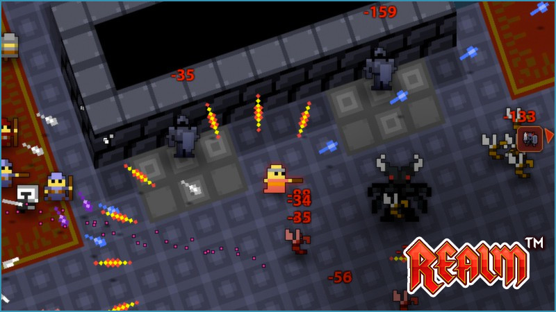 Realm of the Mad God Gameplay Screenshot 2