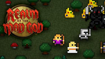 Realm of the Mad God - A fast paced 2d free to play MMO shooter game with a retro 8-bit style.
