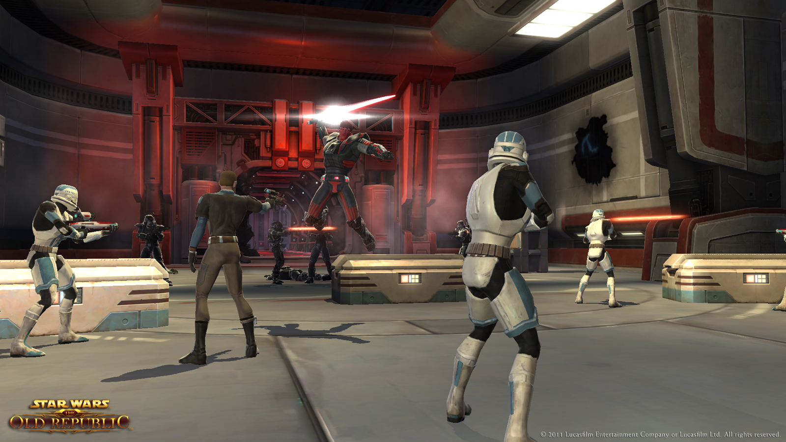 Star Wars: The Old Republic Gameplay Screenshot 1