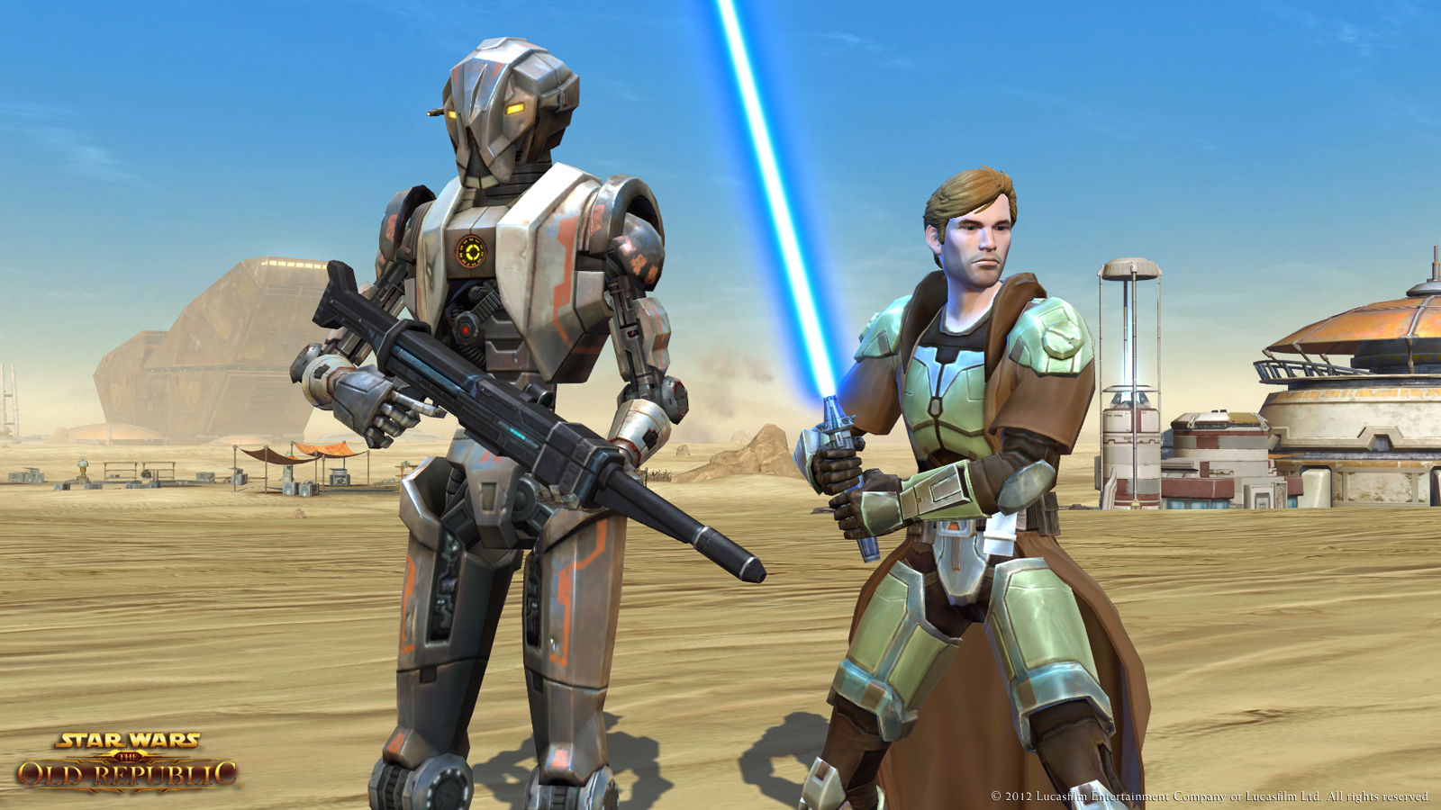 Star Wars: The Old Republic Gameplay Screenshot 2