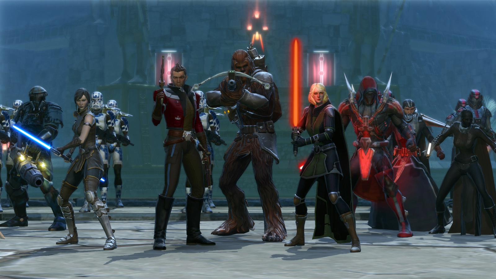 Star Wars: The Old Republic Gameplay Screenshot 4