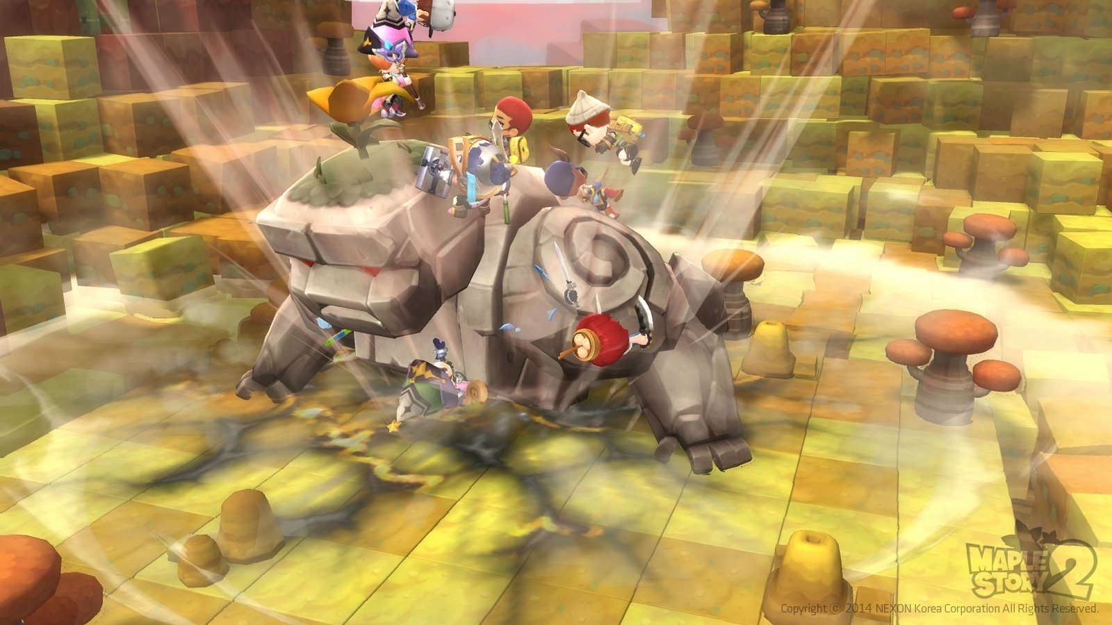 MapleStory 2 Gameplay Screenshot 2