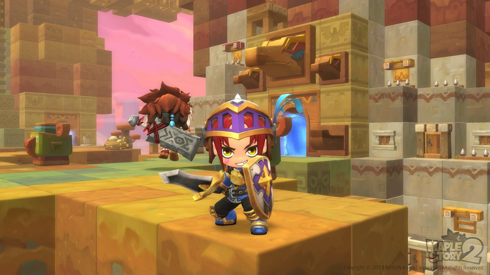 MapleStory 2 Gameplay Screenshot 3