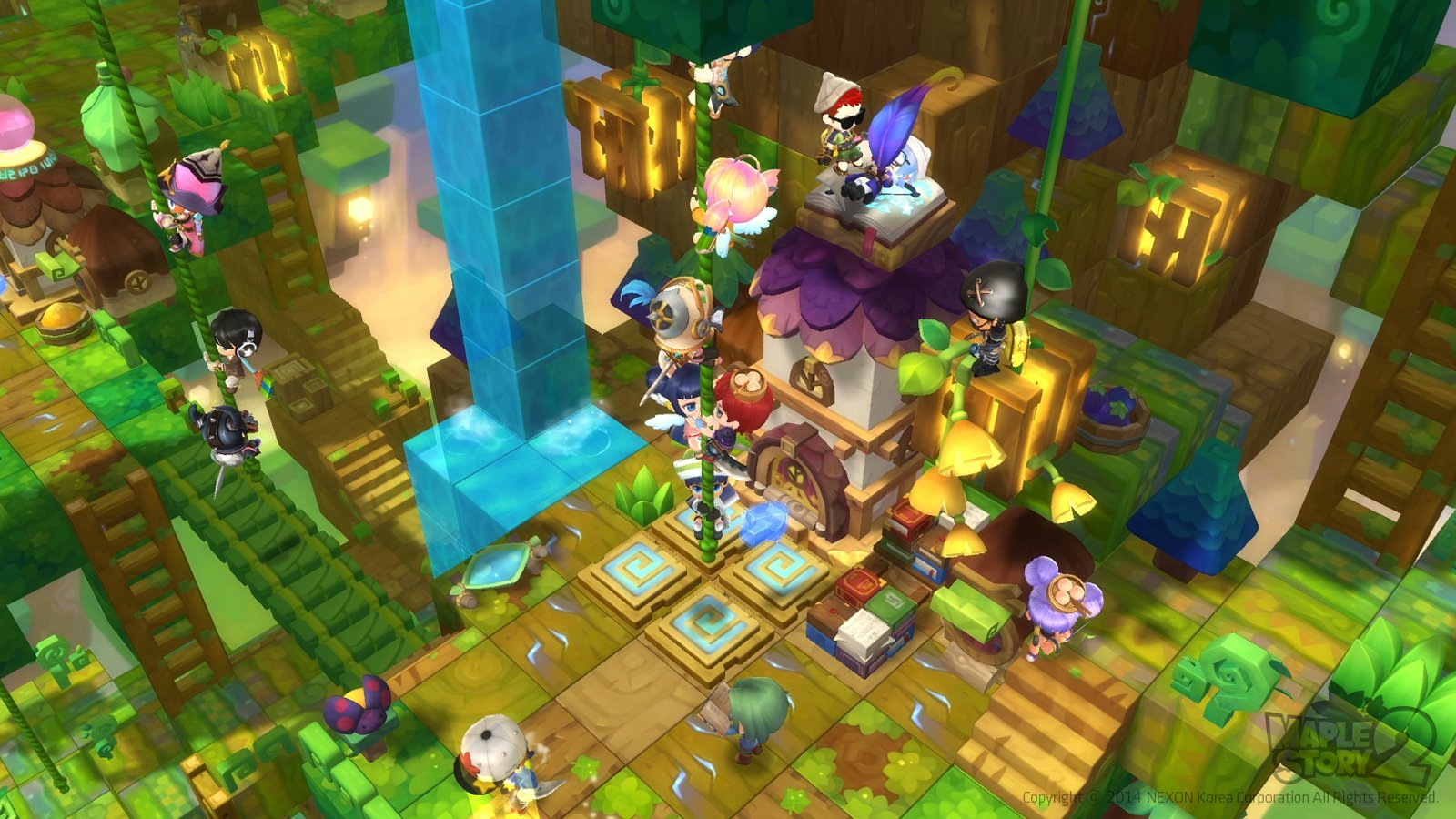 MapleStory 2 Gameplay Screenshot 4
