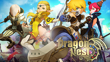 Dragon Nest - A free-to-play action MMORPG with non-targeting combat.
