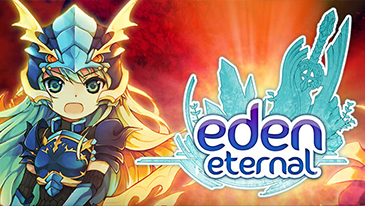 Eden Eternal - A free to play fantasy MMORPG with cute anime-inspired graphics.